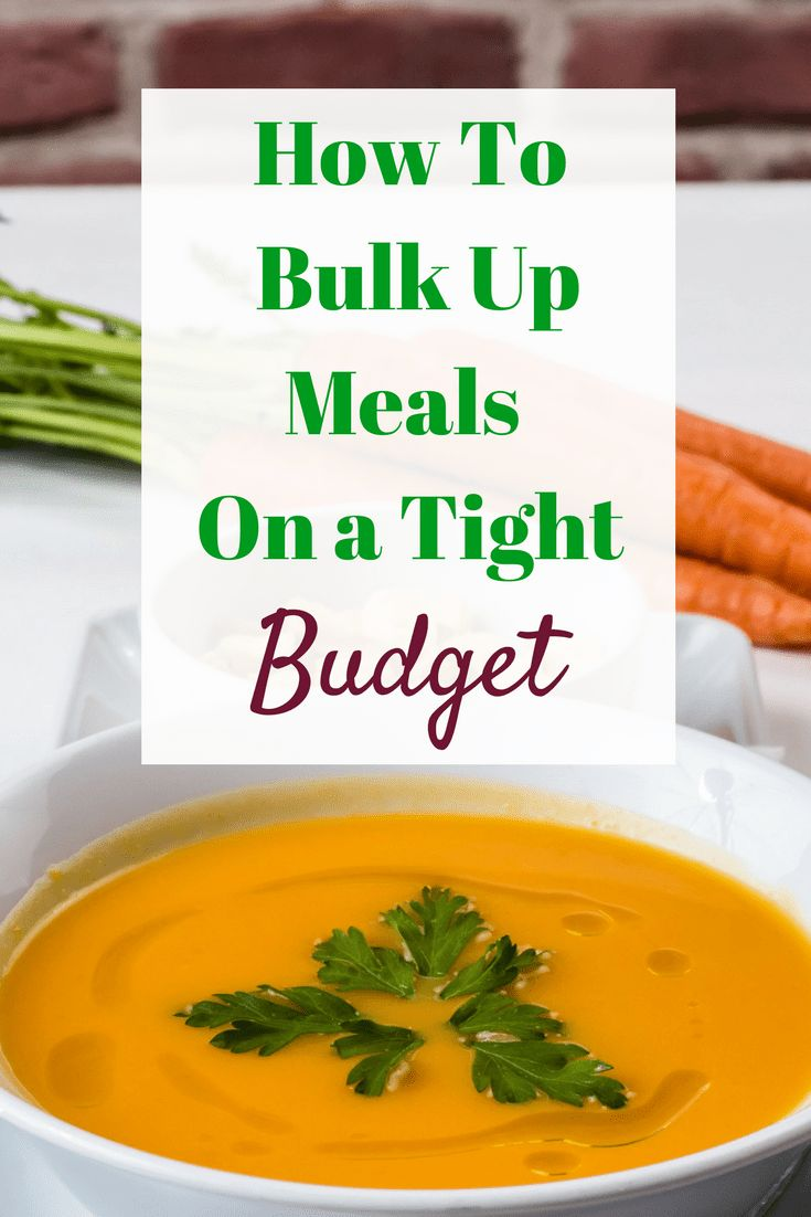 If you have a growing family and are worried about rising food costs here are some ideas to bulk meals up without breaking your budget. . .(and not a lentil in sight!)