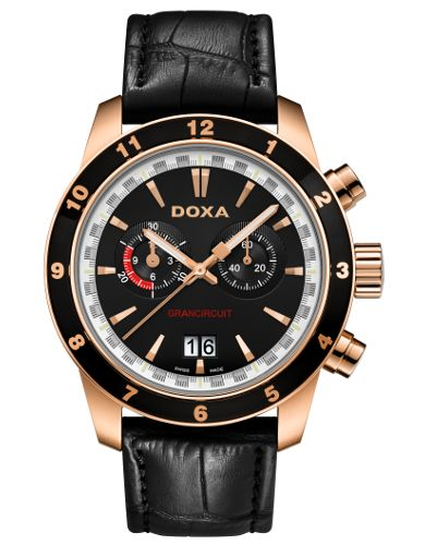 I've got 10% coupon code for sharing this product. Doxa Grancircuit 140.90.101.01 men's watch
