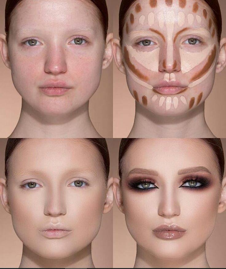 24 Perfect And Best Contour Highlight Tutorial de maquiagem para iniciantes Página 9 de 2 …   – AsaRupe