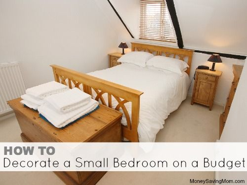 How To Decorate A Small Bedroom On A Budget Cottages