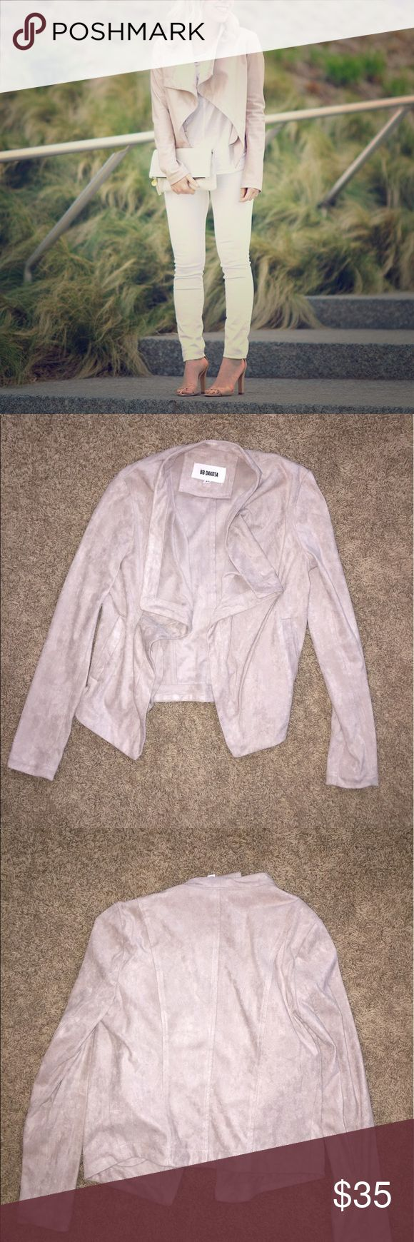 NWOT BB Dakota Blush Jacket NWOT BB Dakota Blush Jacket - Size XS - Color: Blush - Brand new, never worn BB Dakota Jackets & Coats