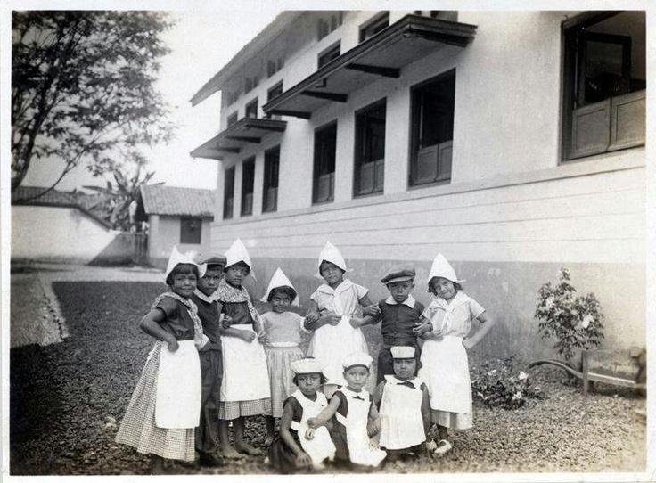 School children bandung 1931