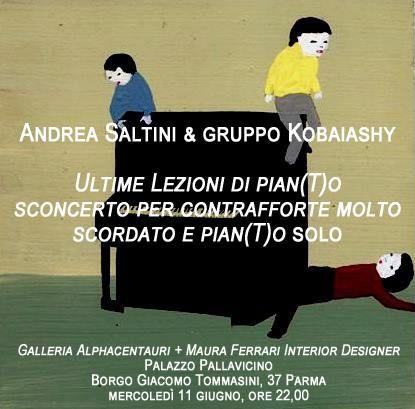 L'ultima lezione di pian(T)o diffonderà la poesia di Andrea Saltini per tutto borgo Giacomo