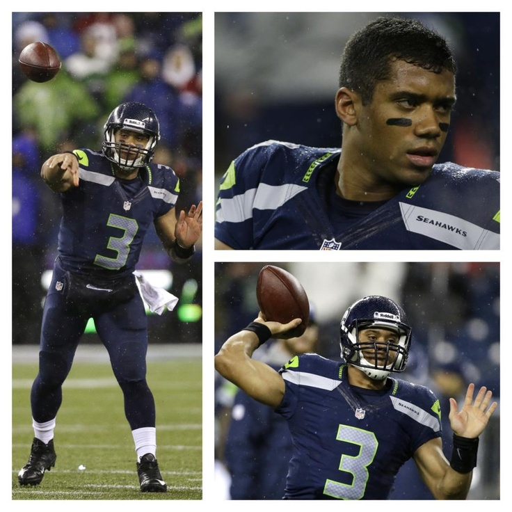 russell wilson...seahawks - Because my niece advised me to and she has a tendency of being right. This is a good, Christian kid doing things right.