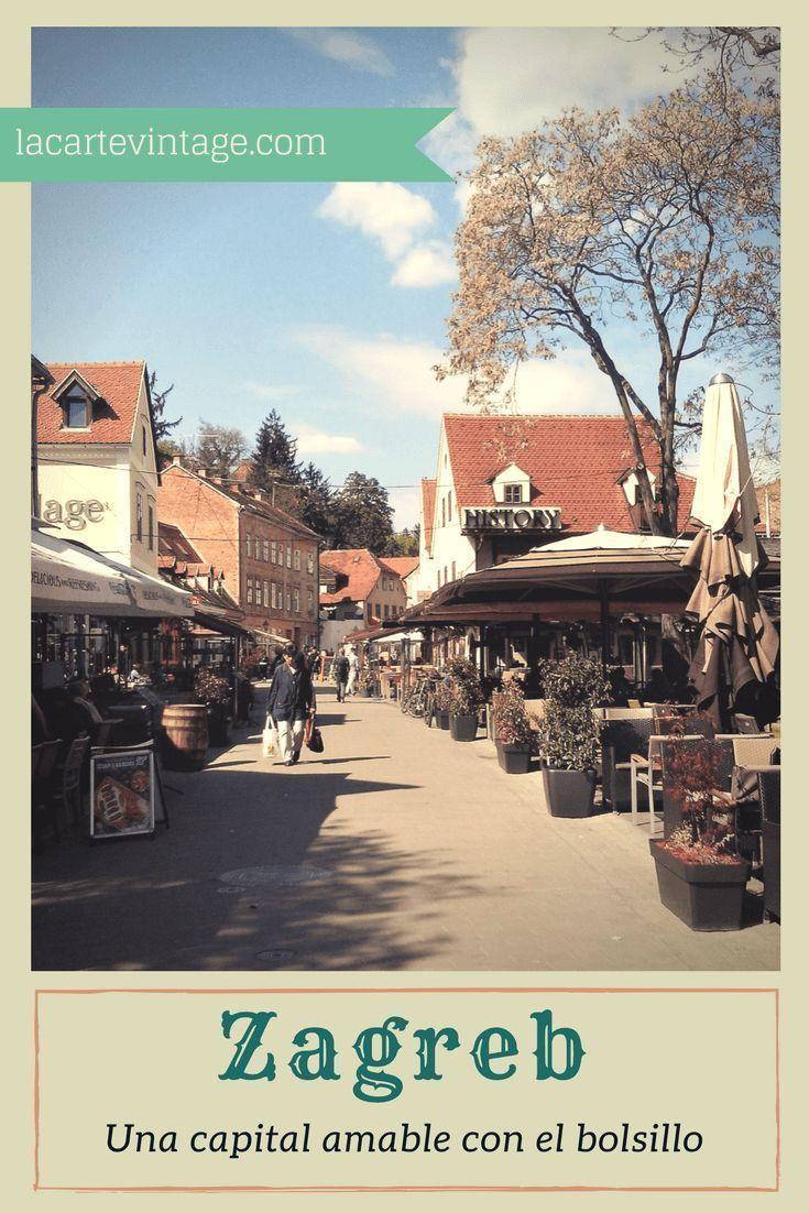 Descrubre Que Hacer En Zagreb En 1 Dia Zagreb Croacia Europa Viajar Barato Zagreb Frases De Viajeros Croacia