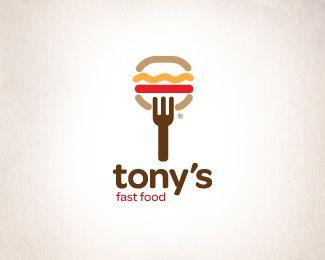 """""""Tony's FastFood"""" Logo"""