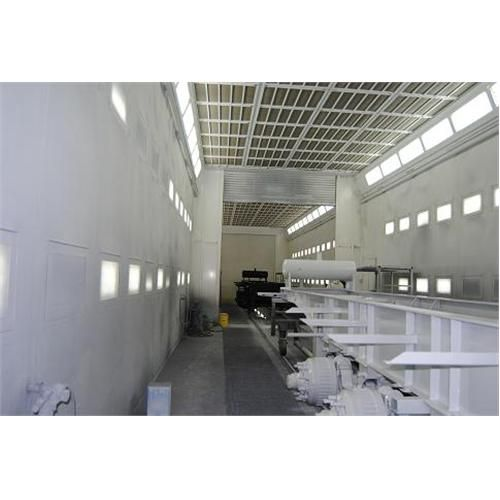 Large Capacity Spray Booths With Dry Filter