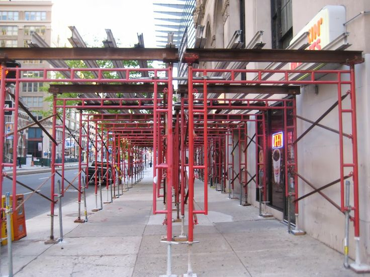 Where To Rent Scaffolding : Images about canopy overhead protection sidewalk