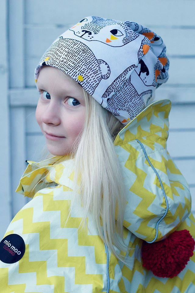www.miomao.fi  Scandinavian style for kids outerwear.