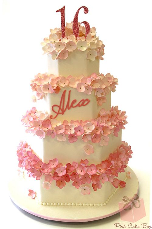 17 Best Ideas About Sweet 16 Cakes On Pinterest 16