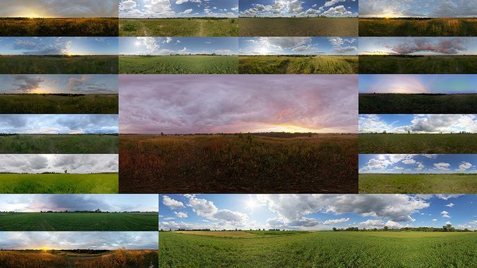 120 Free HDRI Sky Maps in 4K Resolution by HDRI-SKIES