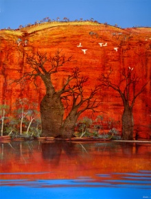 Ingrid Windram's interpretation of the Kimberley, Western Australia