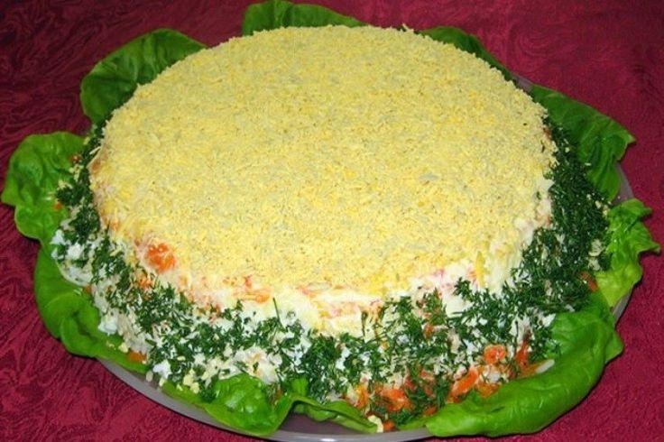 Самый популярный салат 2017 года