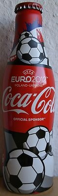 Coca Cola Bottle from France to the European Football Cup 2012 at Ukraine/Poland