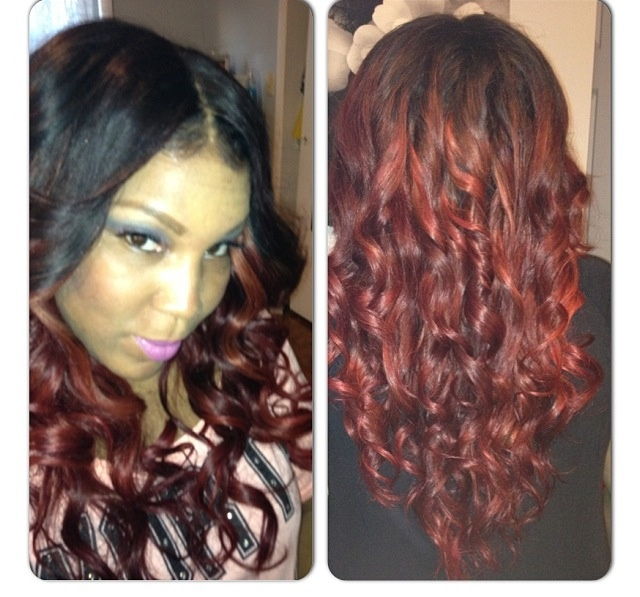 31 best lace closure and sew inll em images on pinterest full head sew in with lace closure pmusecretfo Gallery