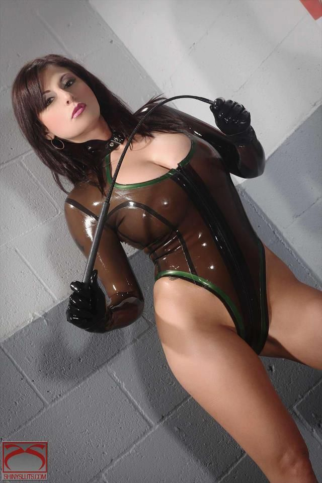 Extreme Rubber Latex Shemale 22