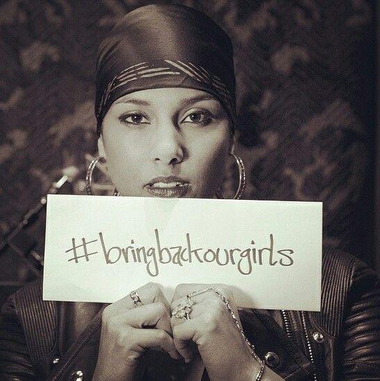 #BringBackOurGirls Alisha Keys