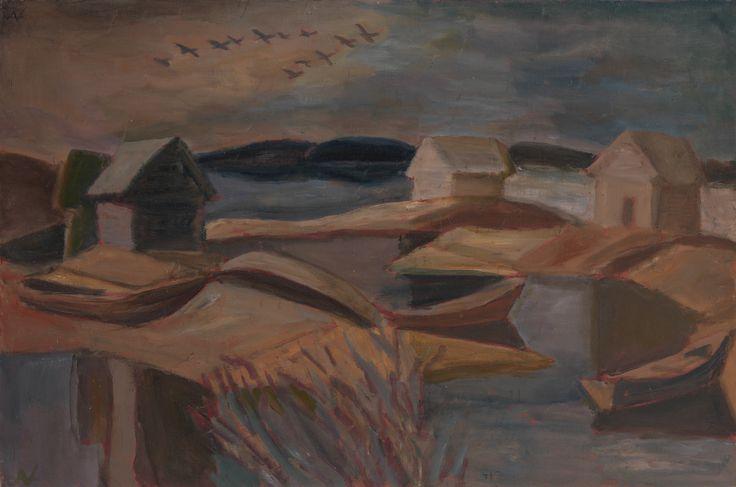 Nikolai Andronov (1929-1998) - High Water, 1985-86