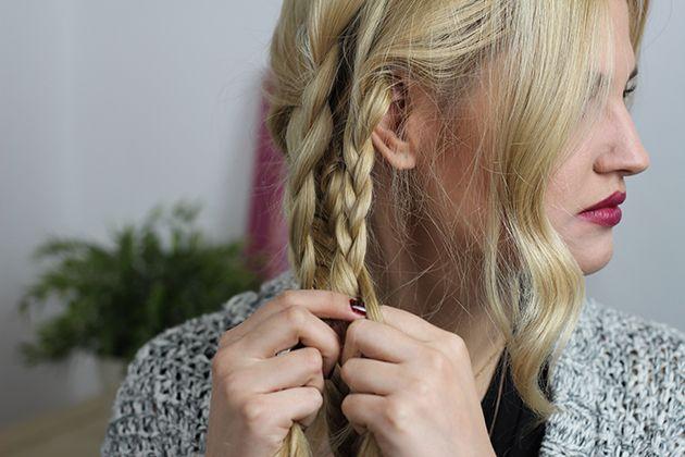 Boho πλεξίδες για μακριά μαλλιά όπως η Blake Lively (tutorial)