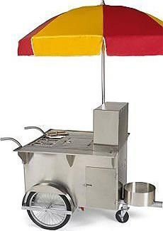 You can rent a Hot Dog Cart for your child's next party. $425 w attendent