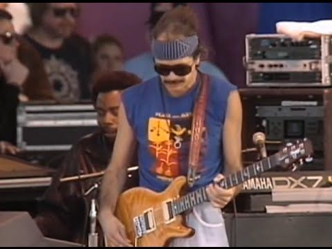 Santana - She's Not There - 11/26/1989 - Watsonville High School Football Field (Official) - YouTube