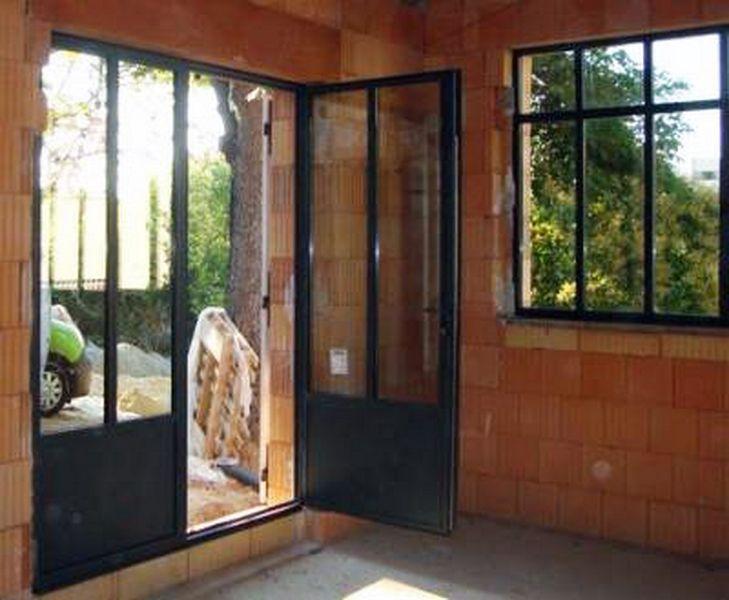 25 beste idee n over porte acier op pinterest stalen deuren porte coulissante sur rail en. Black Bedroom Furniture Sets. Home Design Ideas