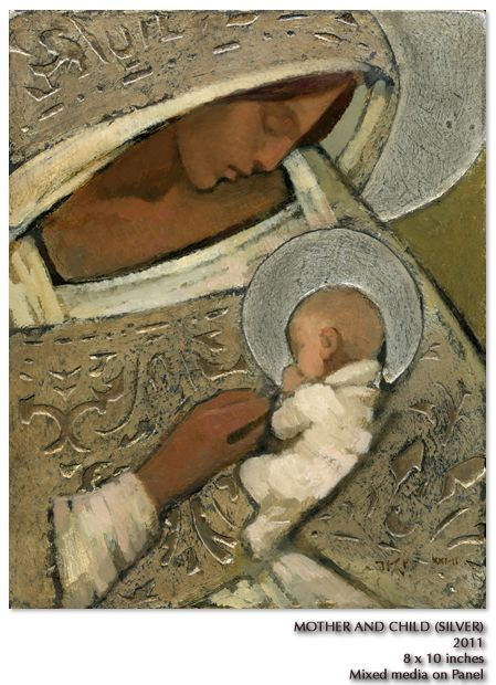 """""""Mother and Child""""- J. Kirk Richards"""