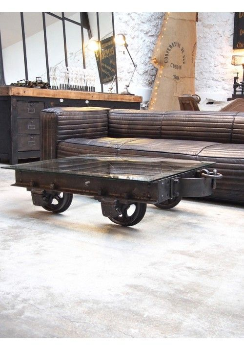 Chariot de transport Decauville vers 1900