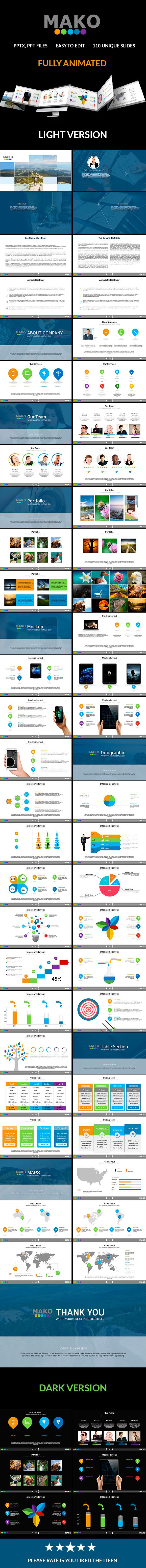Mako Powerpoint Presentation (PowerPoint Templates)