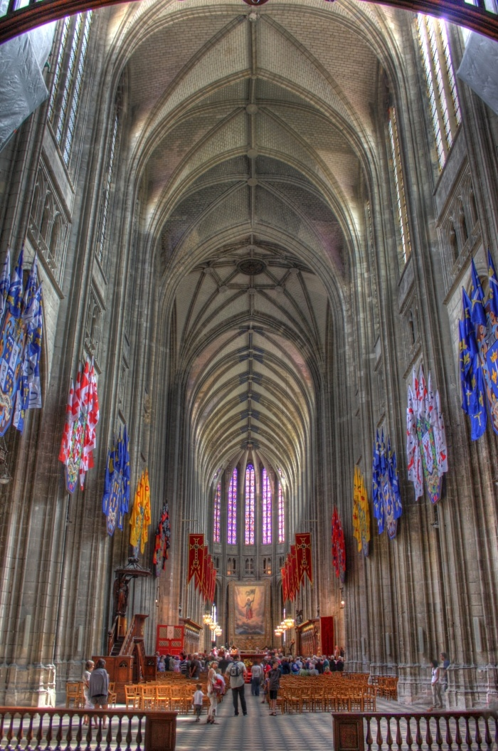 HDR experiments - Orleans Cathedral « Liam Birch