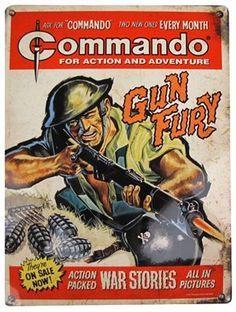 commando comics - aug16