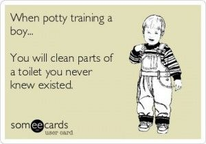 We have seven easy steps to successful potty training! Sh!t or Get Off the Potty!