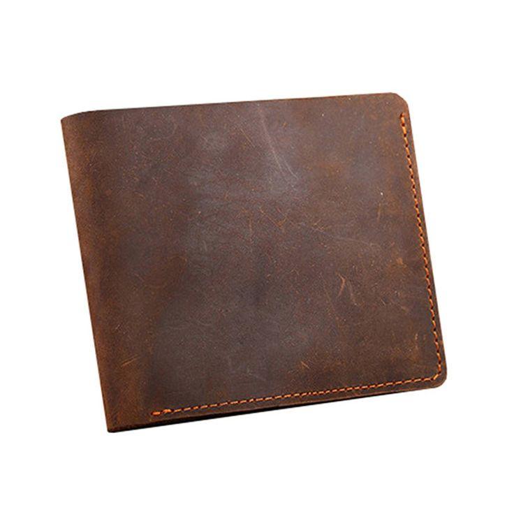марочный короткие мужские кошельки из натуральной кожи мужское портмоне С визитница натуральная кожа маленький кошелек мужской бумажник кошелёк сумка мужская ка