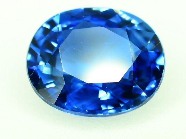 GiL Certified 3.66 ct Royal Blue Sapphire AAA Gradde Ceylon. dr