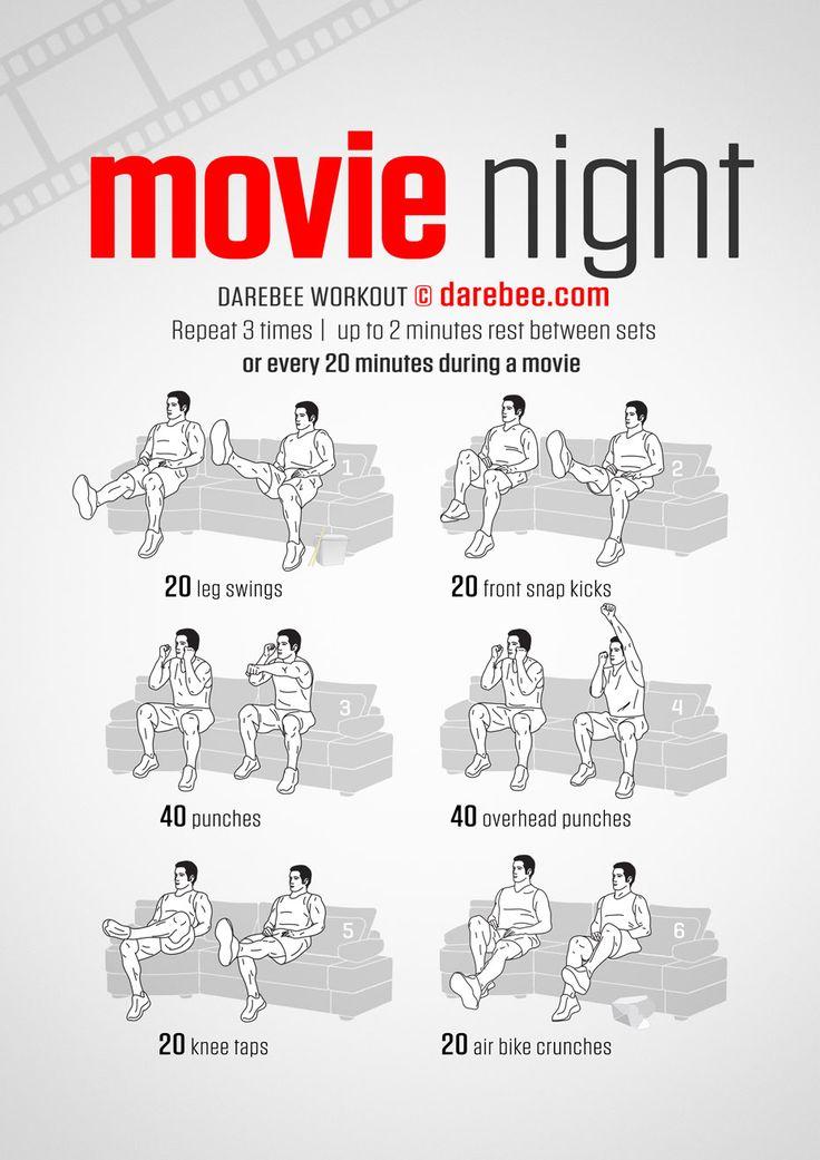 Movie Night Workout