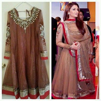 latest bollywood designer  dress for wedding party or eid