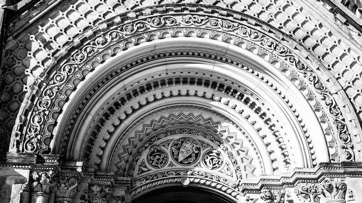 Rising Sun ( Arch detail)