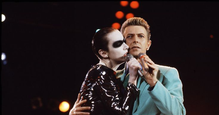 Annie Lennox penned a touching, poetic tribute to David Bowie. The pair had shared a stage in 1992 at a Freddie Mercury tribute show.