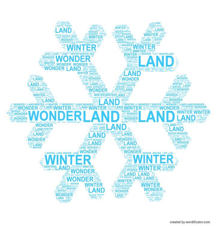 Snow flake #snow #flake #winter #wordificator #snowflake