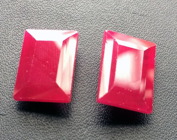 1 Pc Ruby Chatham Red Chatham Ruby Chatham by gemsforjewels