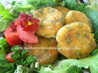 Author Rebecca Mugridge: Tasty Tempeh & Chickpea Bites
