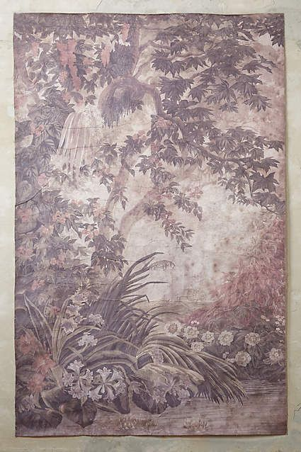 Anthropologie eu versailles wall mural this elegant piece for Anthropologie wallpaper mural