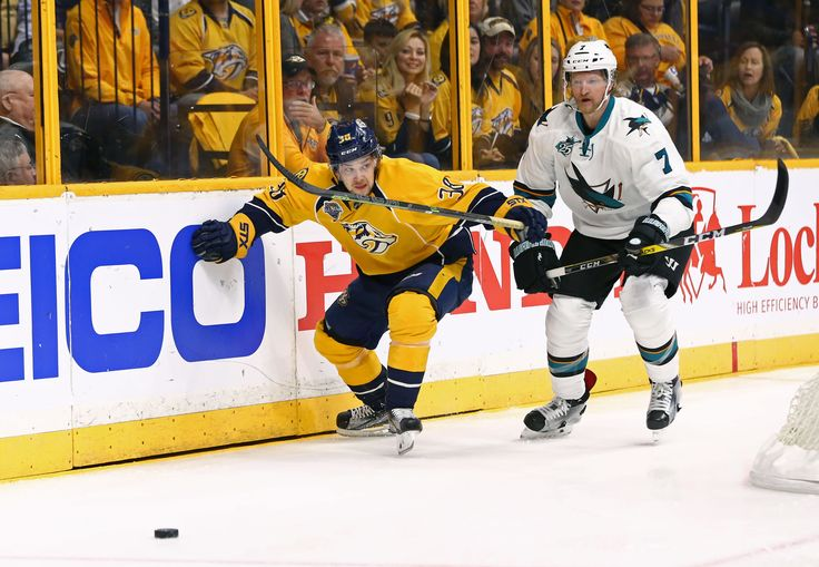 Nashville Predators vs. San Jose Sharks: Playoff Preview? - On the Forecheckclockmenumore-arrowStubhub Logo : The Sharks are back in Bridgestone Arena for the first time since Viktor Arvidsson made everyone go ape.