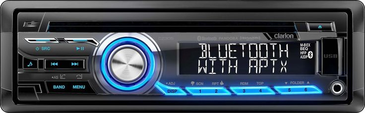 Mixing old and new    Clarion's CZ305 CD receiver seamlessly blends legacy music options with the latest in wireless audio and satellite radio. Its built-in Bluetooth with aptX provides