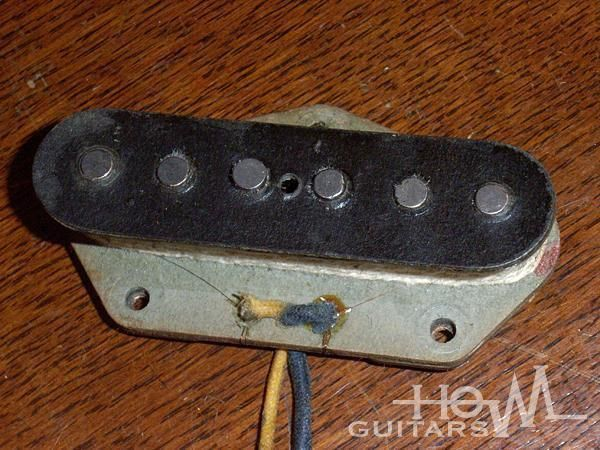 1965 Fender USA Telecaster Bridge Pickup CBS Staggered Pole Piece