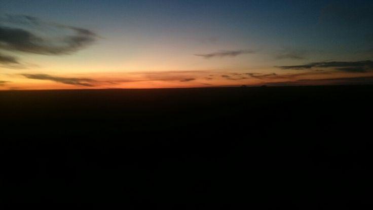Sunset 17th may Jerilderie Area
