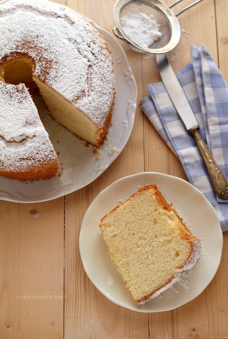 chiffon cake limone ricetta originale