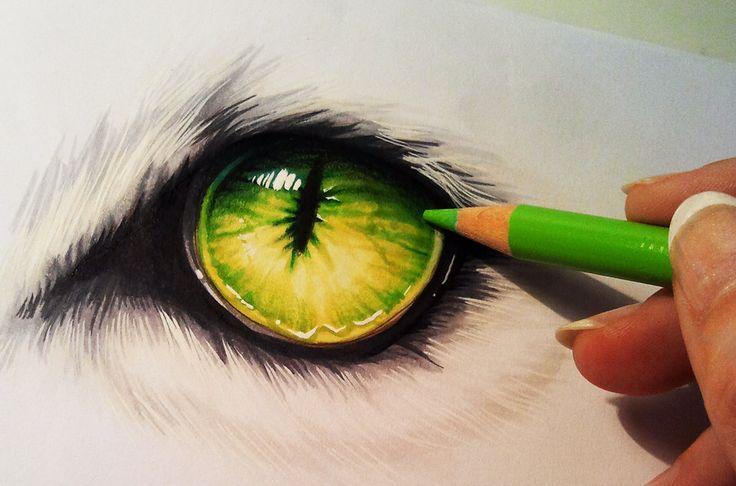 Creature eye by Naschi on deviantART