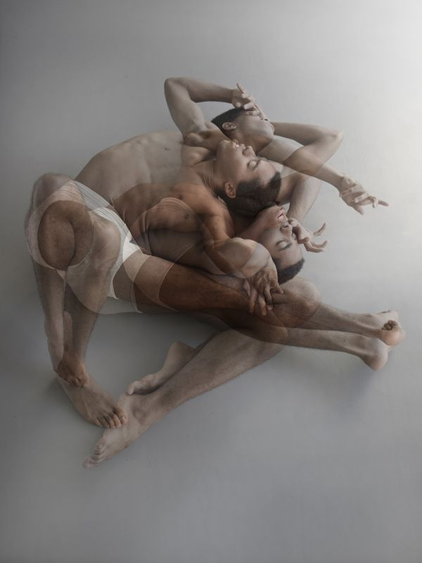 New York-based photographer Nir Arieli captures the entrancing movements of dancers for his series titled Tension. By layering several images of each dancer-models atop one another, Arieli produces a frenzy of motion that is both an intimate and expressive performance