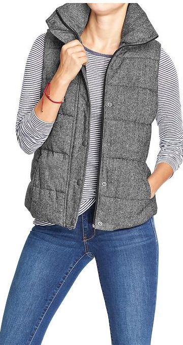 Quilted vest by Old Navy http://rstyle.me/~2XlHW